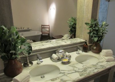 Bathroom at Inkaterra La Casona