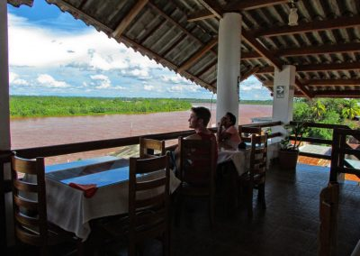 Restaurant at Rio Huallaga Hotel, Yurimaguas
