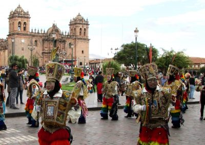 Plaza de Armas and Cusco Cathedral