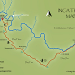 Inca Trail Map and Elevation Profile
