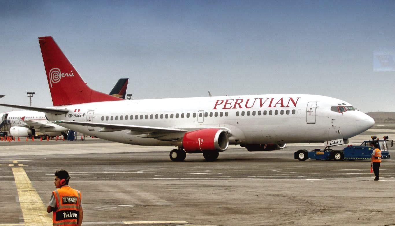 Peruvian Airlines in Lima, Peru
