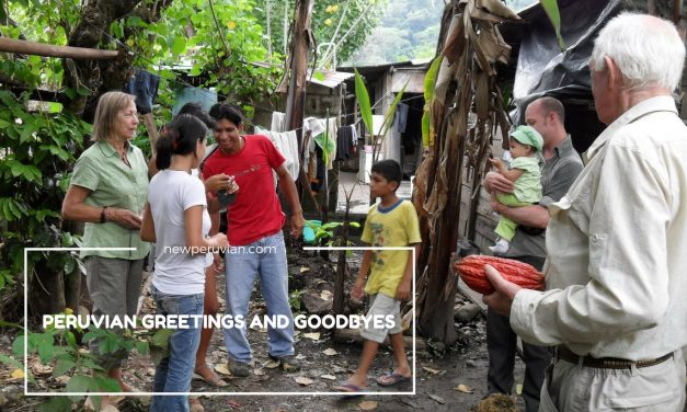 The Etiquette of Peruvian Greetings, Introductions and Goodbyes