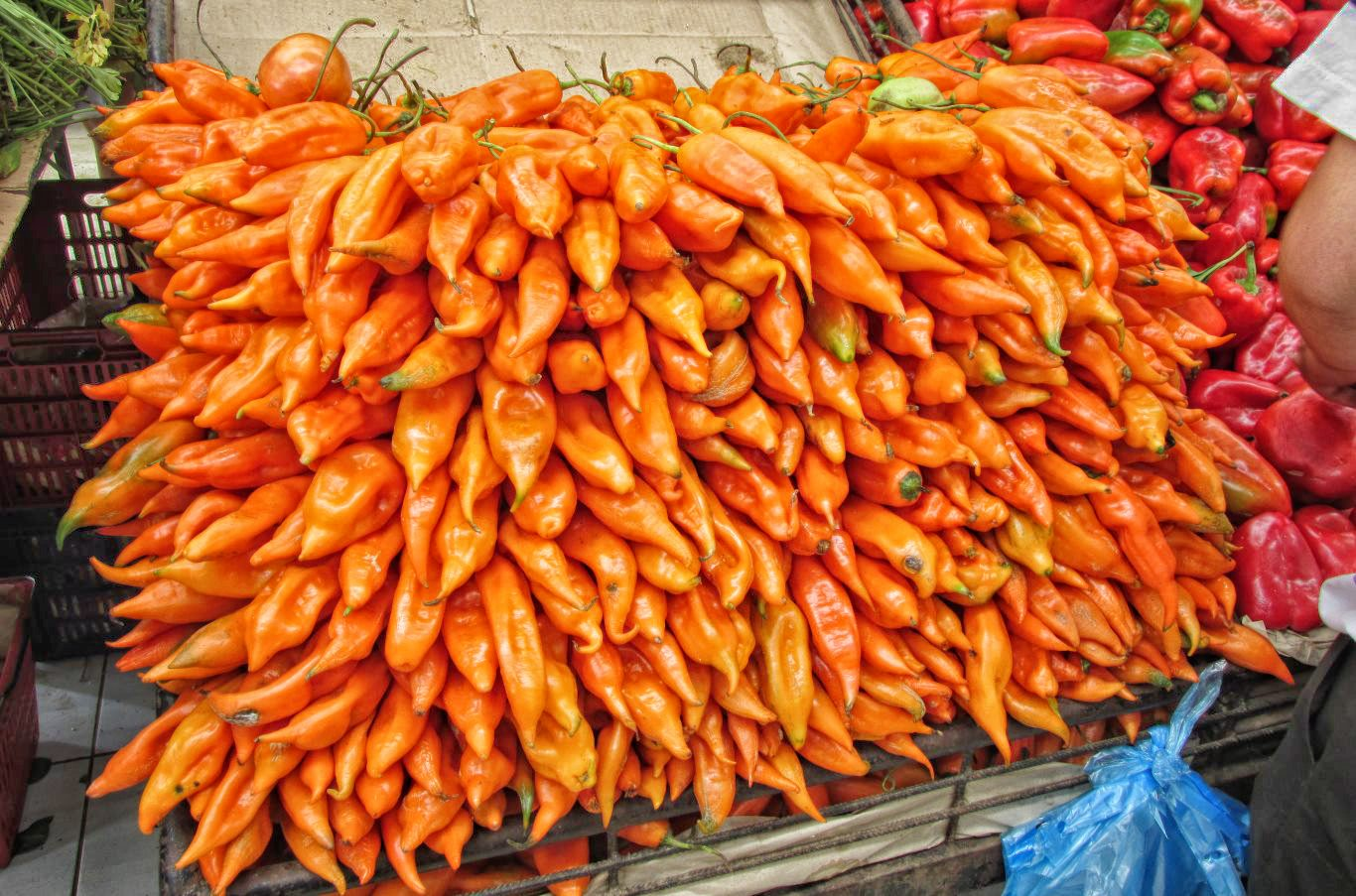 Ingredients in Peruvian cuisine: Aji amarillo