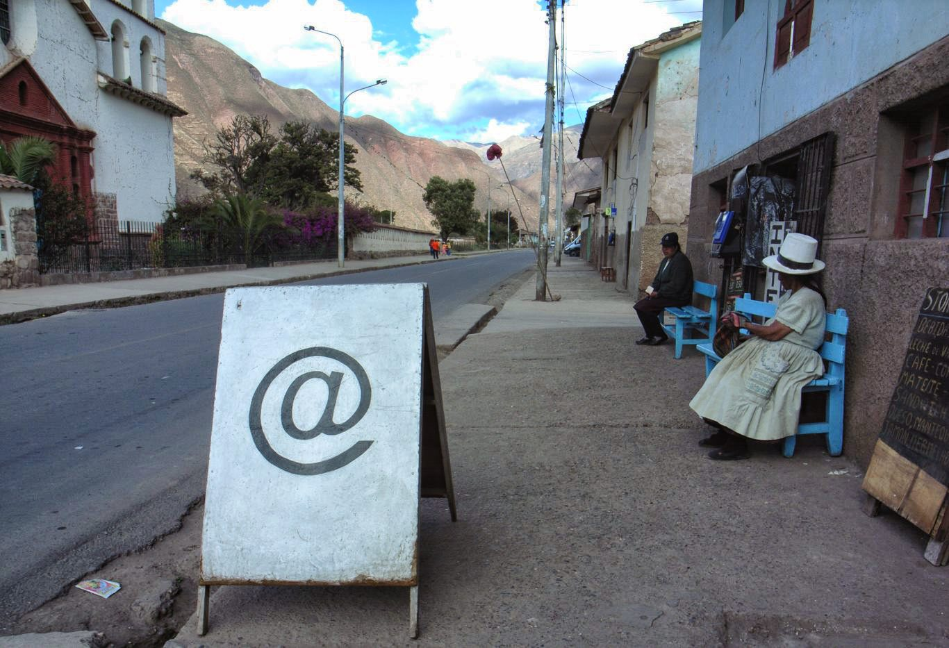 Internet access in Peru