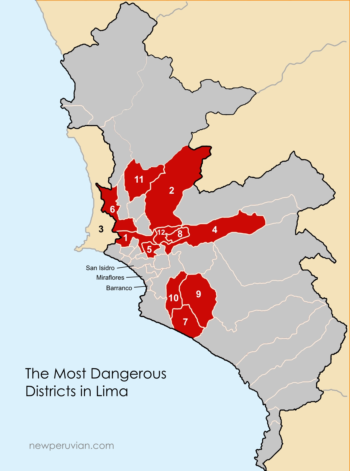 The Most Dangerous Areas of Lima Peru New Peruvian