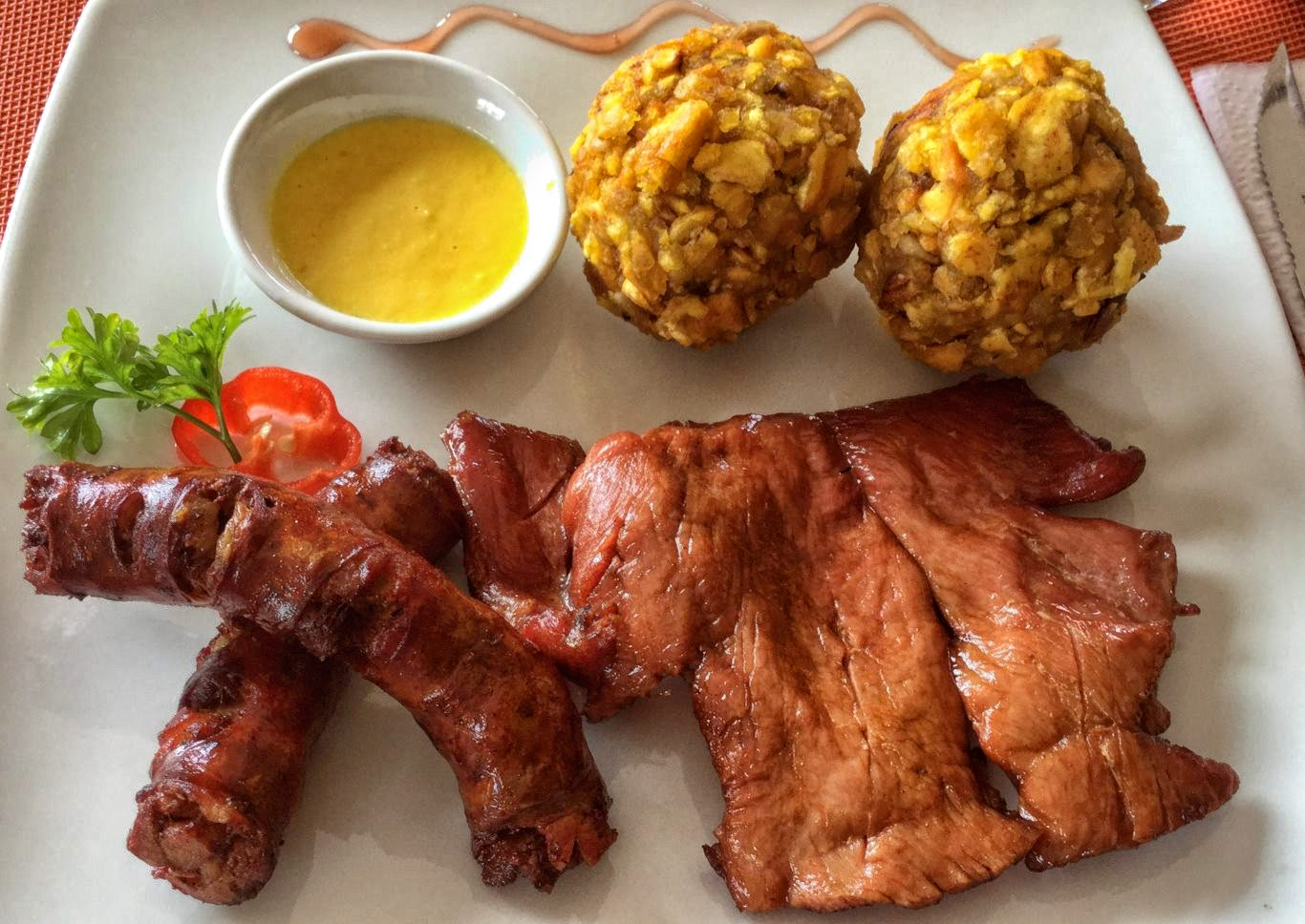 Ingredients of Peruvian cuisine: Plantain