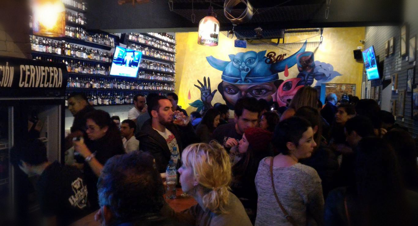 Nightlife in Lima: Barbarian bar