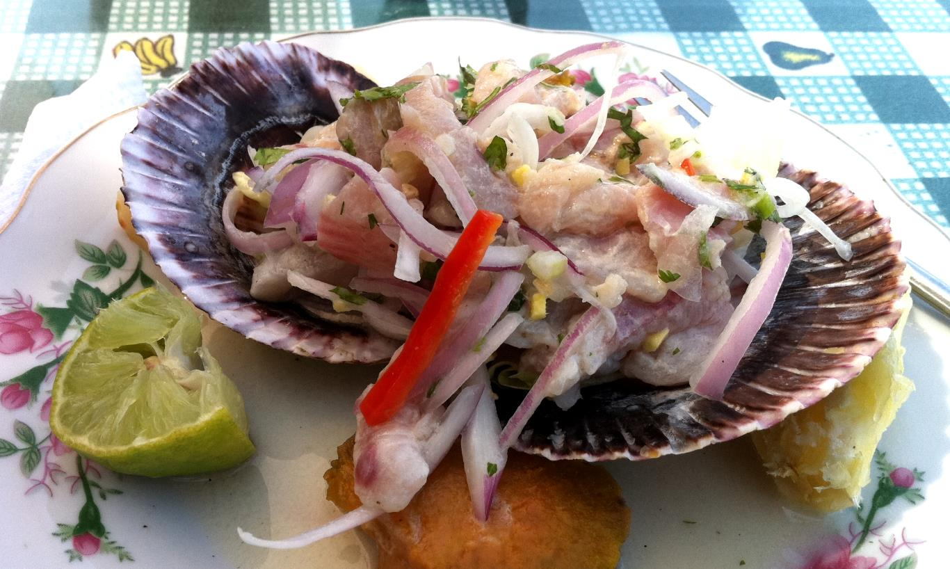 Types of ceviche: Ceviche simple