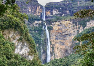 Gocta Waterfall in Amazonas, Peru