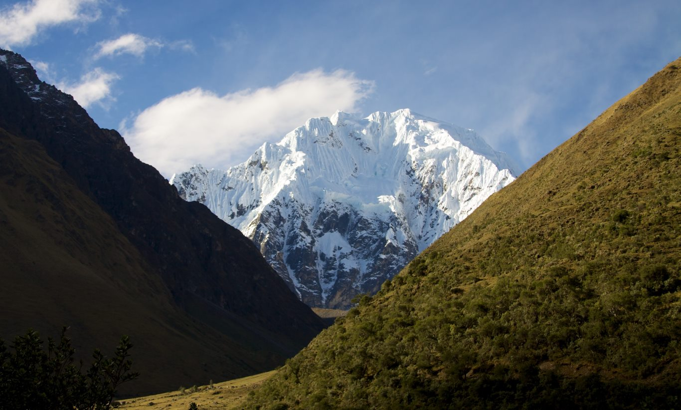 Highest mountains in Peru: Salkantay