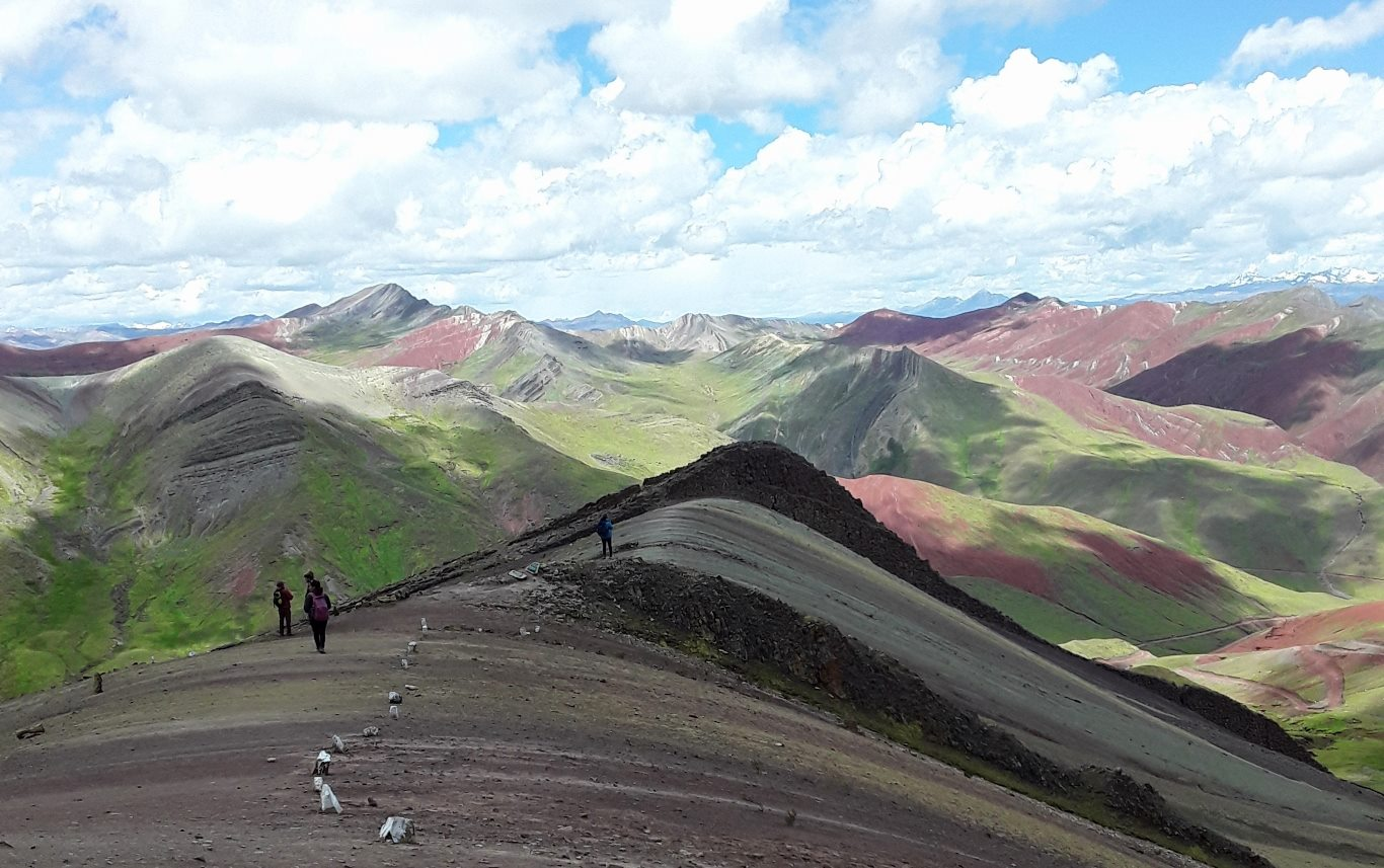 Palccoyo Rainbow Mountain in Cusco, Peru