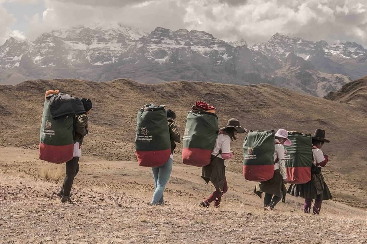 Inca trek female porters