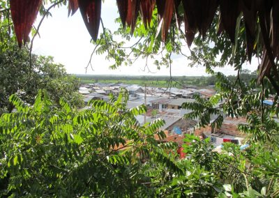 View of Iquitos from tree house