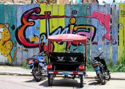 Mototaxi in Yurimaguas, Peru
