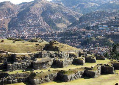 Saksaywaman overlooking Cusco