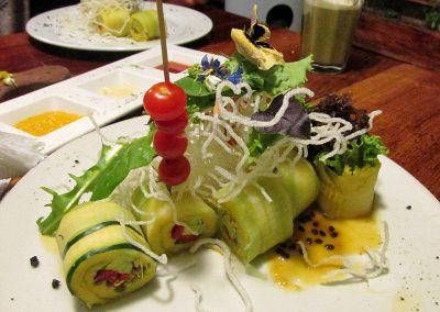 Green Point vegetarian restaurant in Cusco