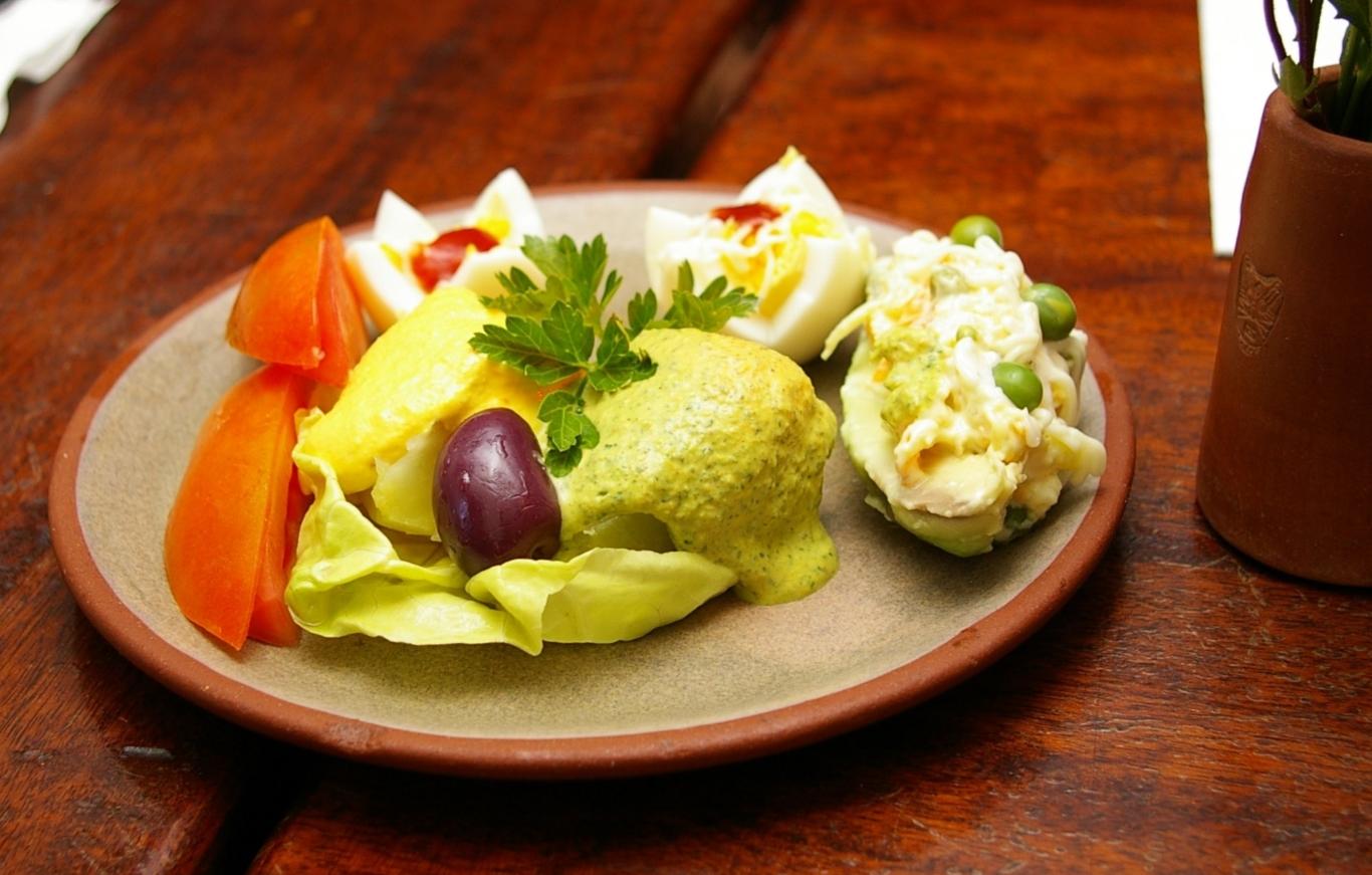 Peruvian food for vegetarians