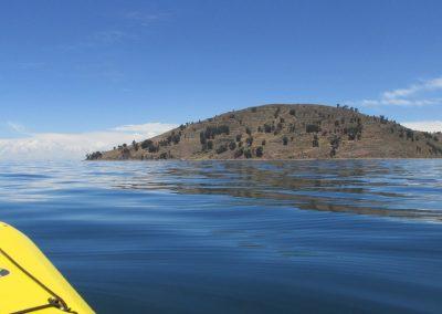 Kayaking on Lake Titicaca to Isla Taquile
