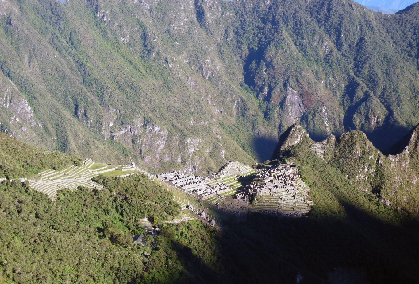 Machu Picchu Sun Gate sunrise