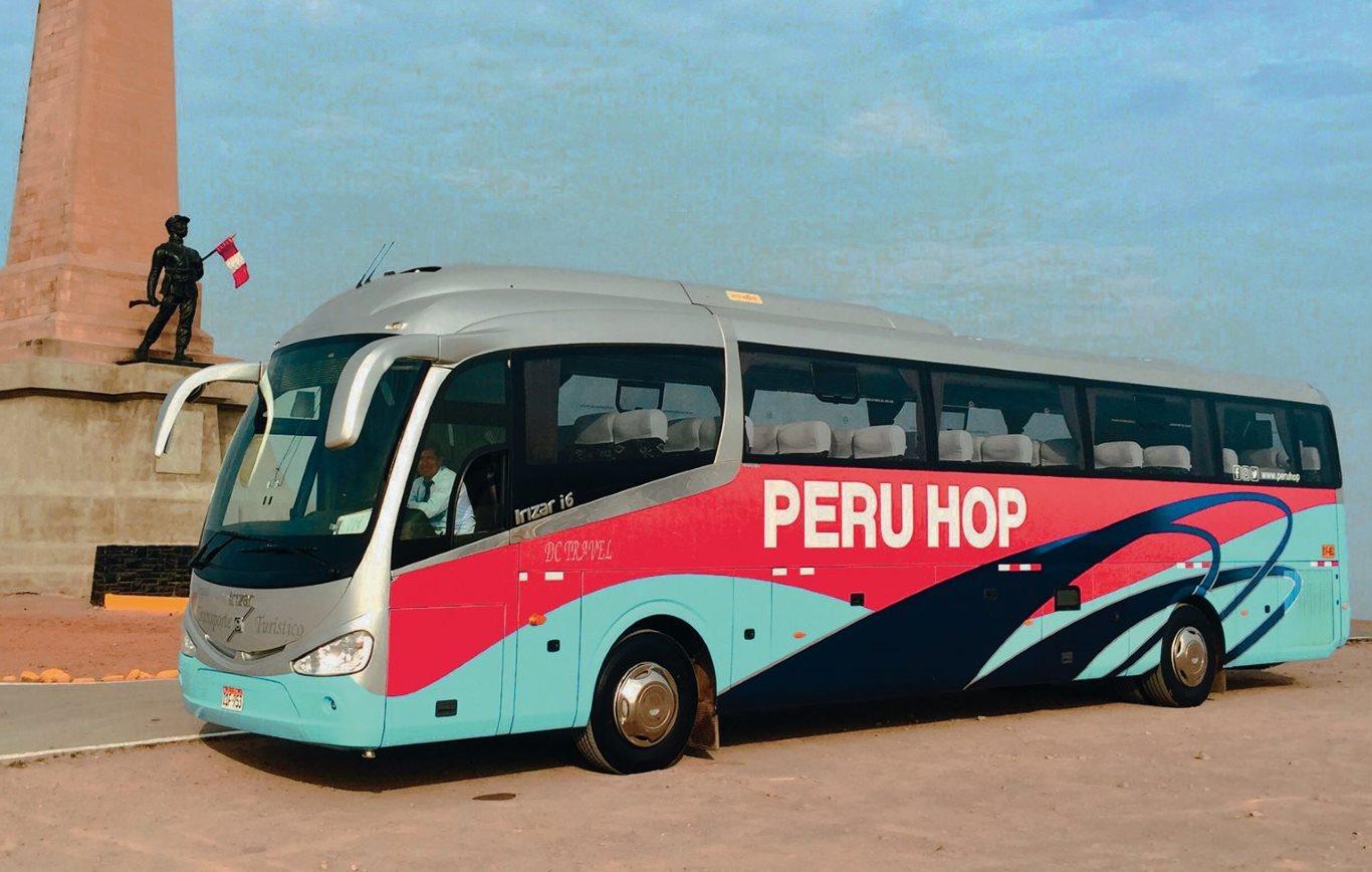 Peru Hop tourist bus service