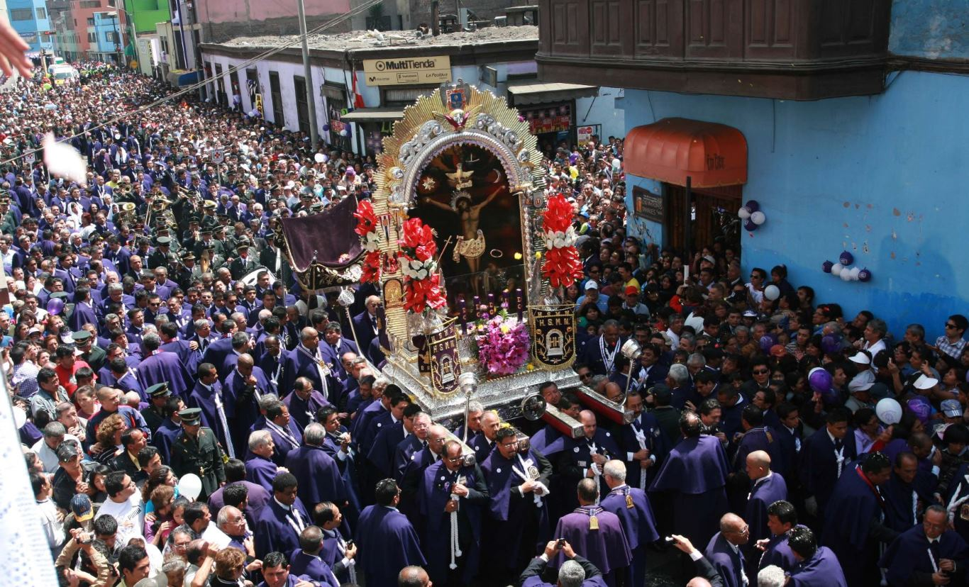 Events in Lima: Señor de los Milagros