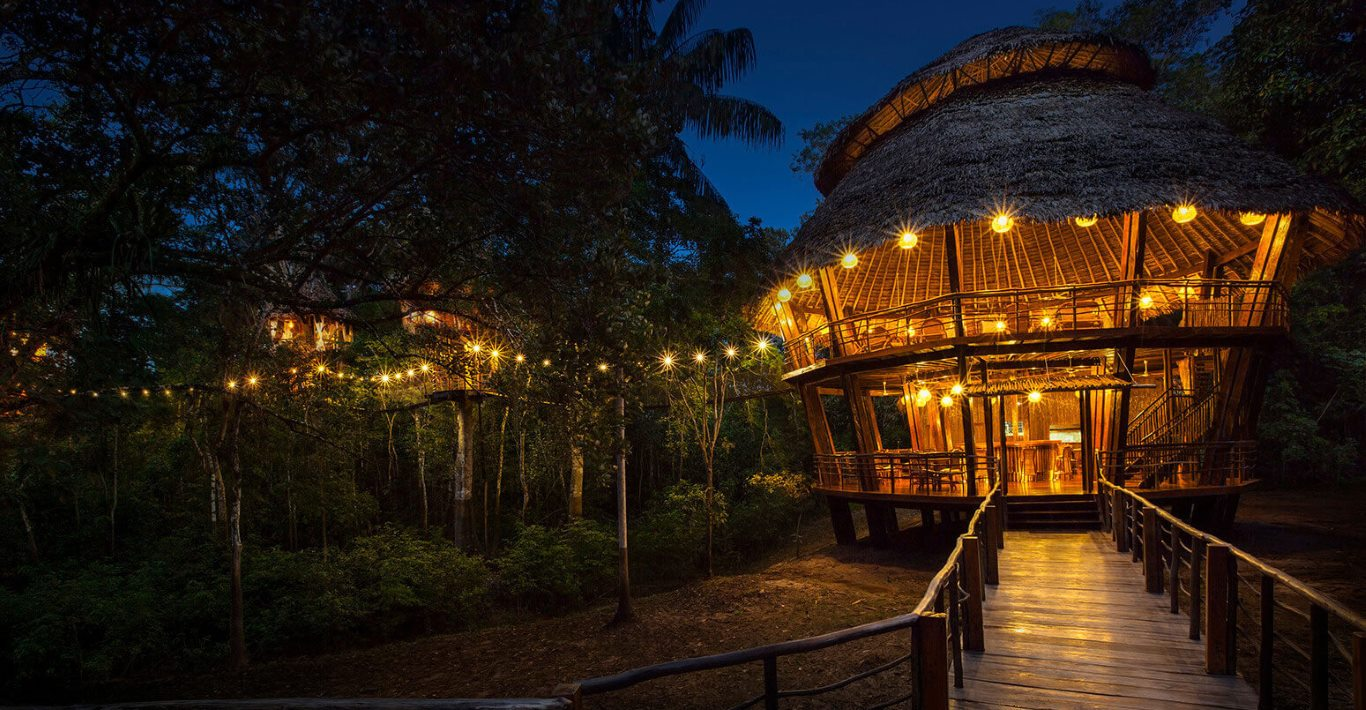 All-inclusive resorts in Peru: Treehouse Lodge, Iquitos