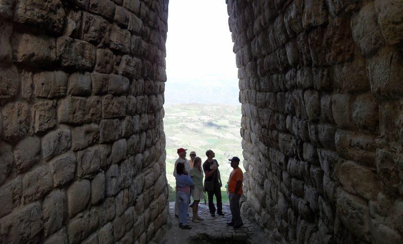 Popular attractions in Peru: Kuelap
