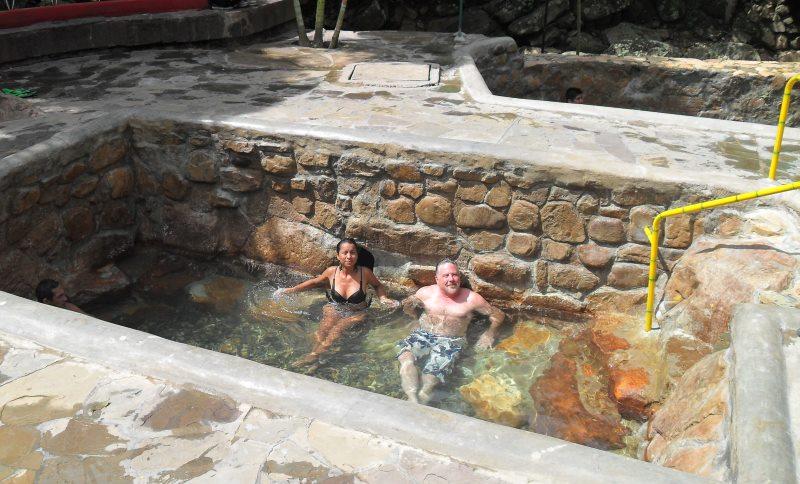San Mateo thermal baths, Moyobamba, San Martín
