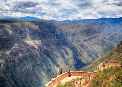 Sonche Canyon near Chachapoyas, Peru