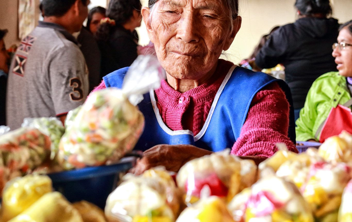 Woman in Chachapoyas Market