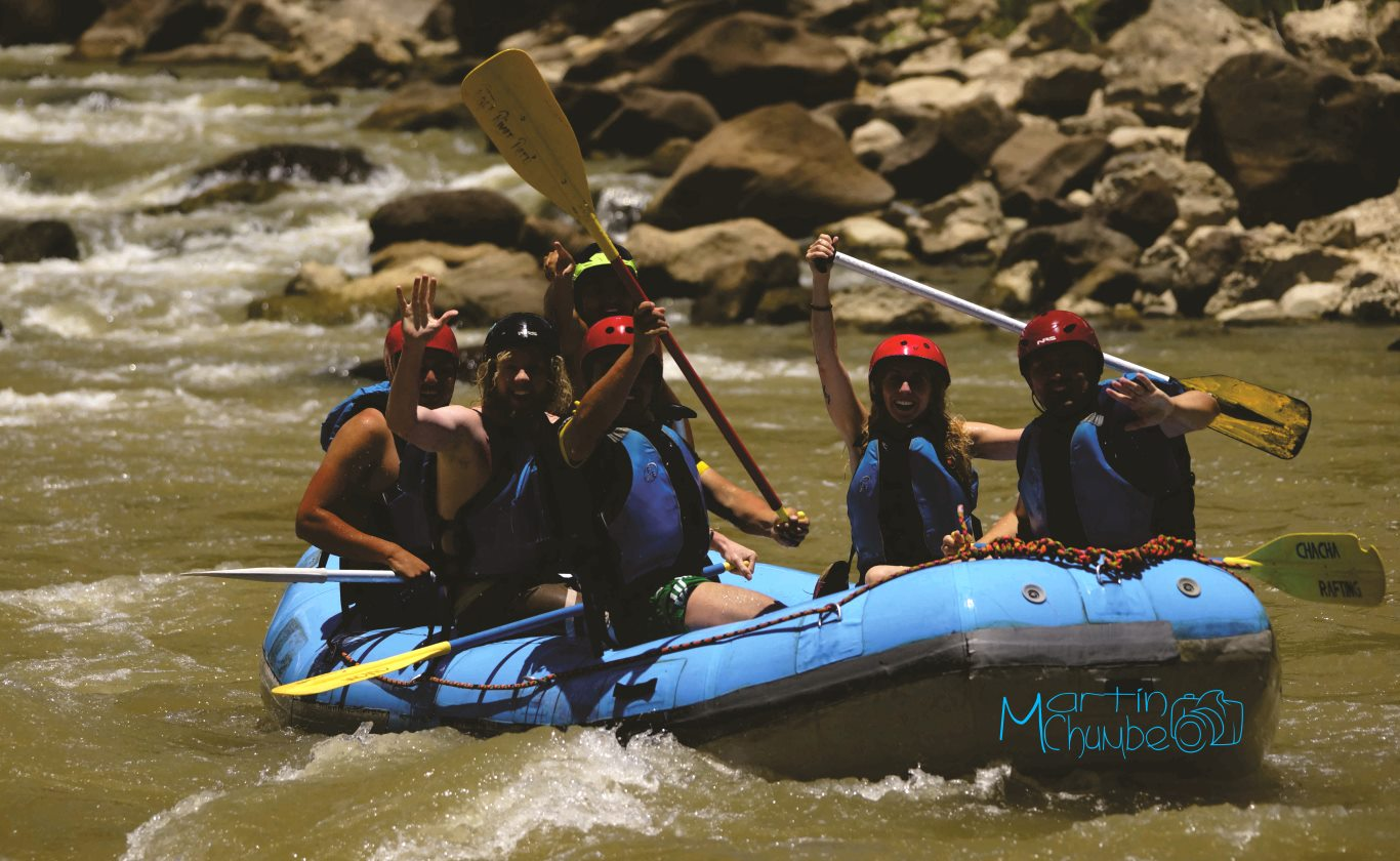 River rafting in Chachapoyas with Chacha Rafting