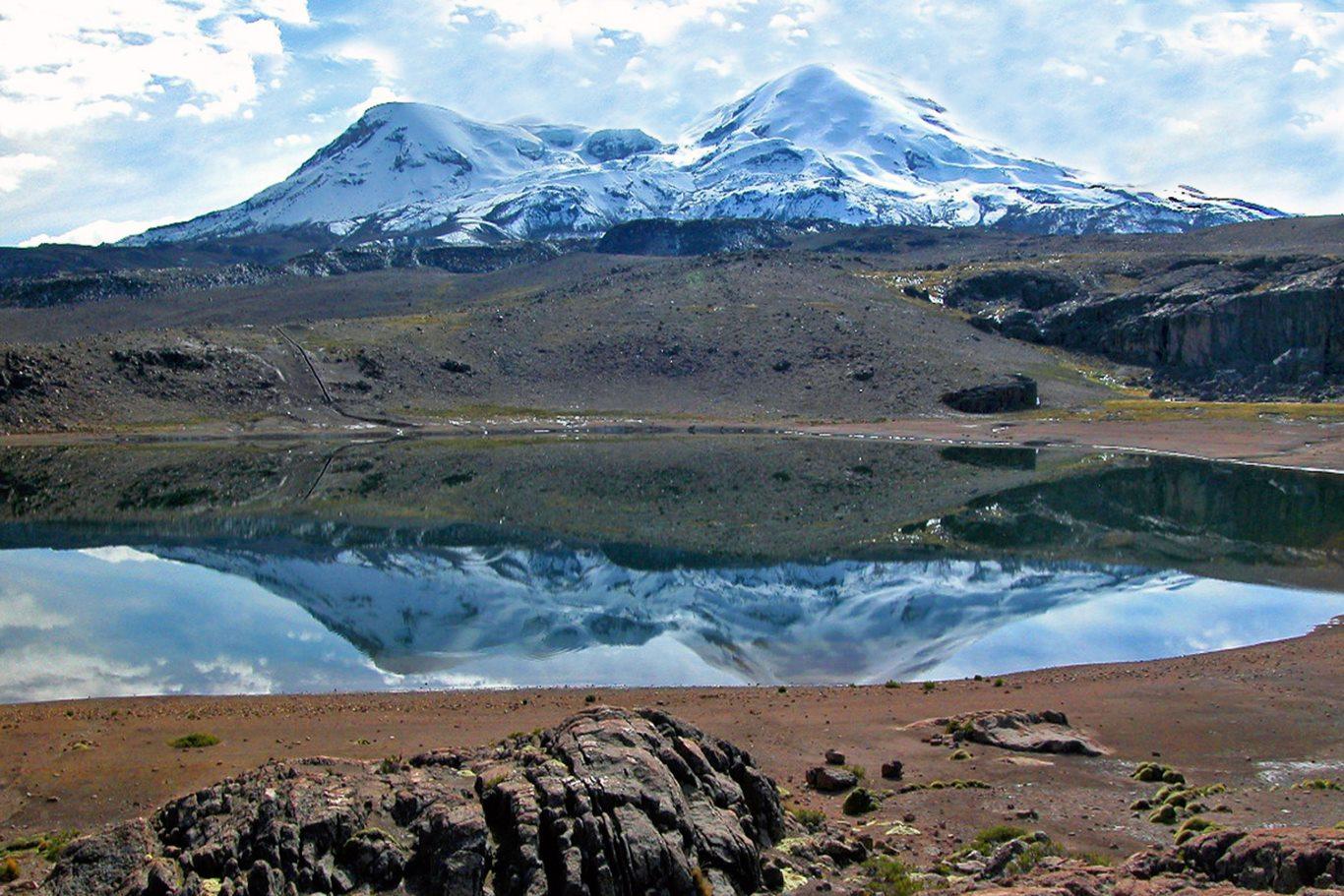 Highest mountains in Peru: Coropuna