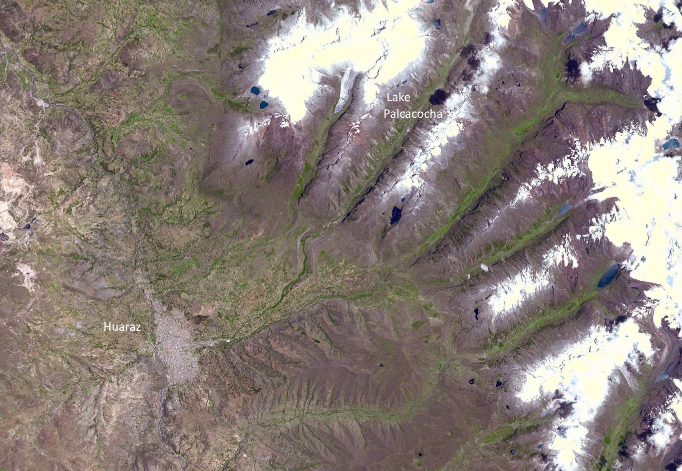 Climate change in Peru: Glacial melt
