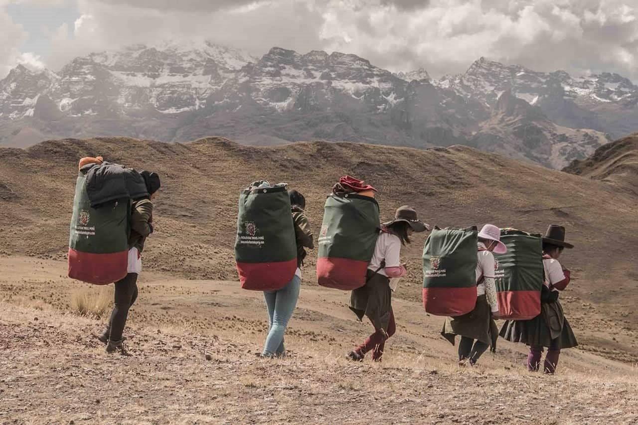 Inca trek female porters