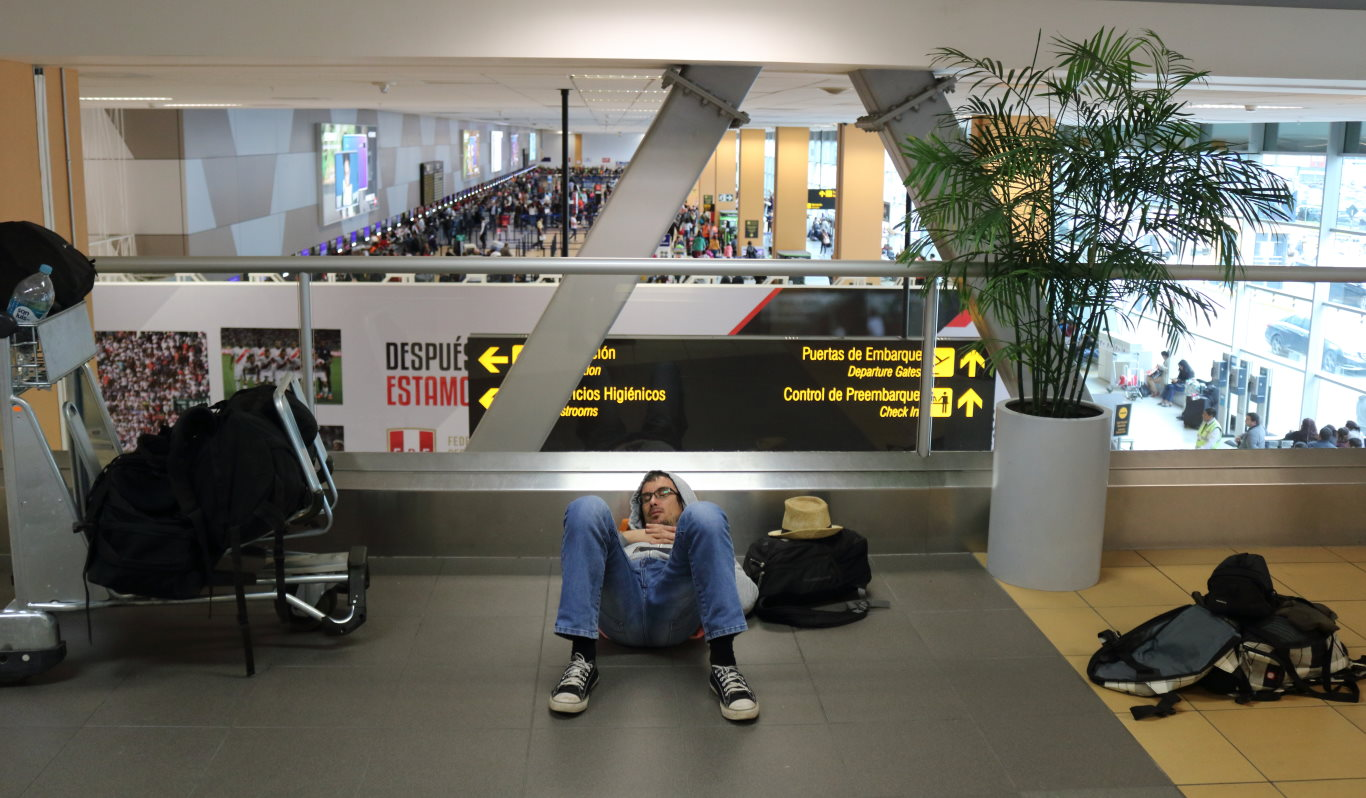 Peru overstay fine at Lima Airport